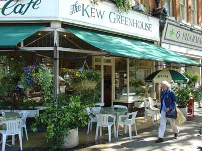 Kew Garden tea shop