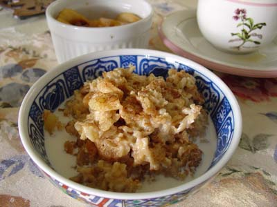 Bowl of Baked Oatmeal