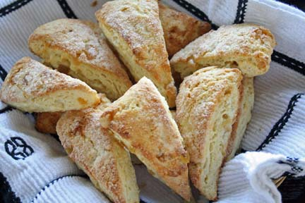 Ginger Scones